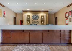 Comfort Suites - Rolla - Front desk
