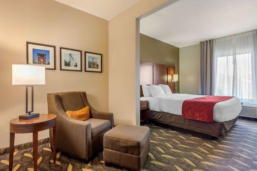 Comfort Suites - Rolla - Bedroom