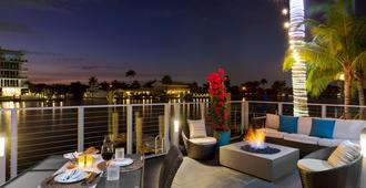 Residence Inn by Marriott Fort Lauderdale Intracoastal/Il Lugano - Fort Lauderdale - Balkon