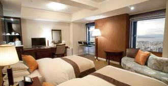 Shiroyama Hotel Kagoshima - Kagoshima - Bedroom