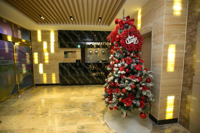 Songjeong Olla Hotel - Busan - Front desk