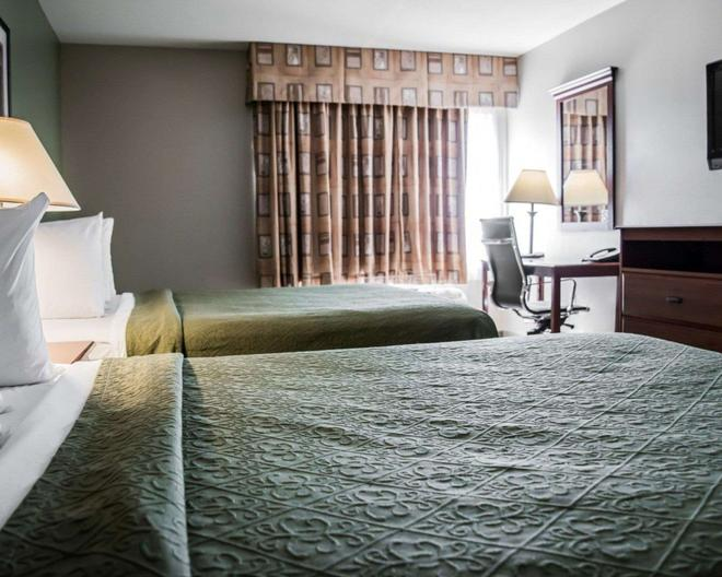 Quality Inn & Suites Near Fairgrounds Ybor City - Tampa - Bedroom