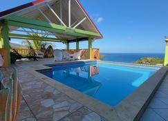 Tropical Paradise View - Anse La Raye - Pool