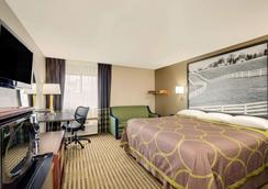 Super 8 by Wyndham Lexington Winchester Rd - Lexington - Bedroom