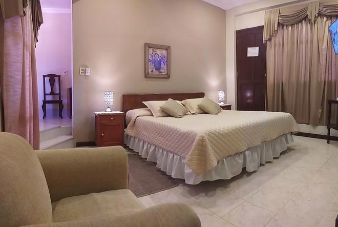 Hotel Carmen - Tarija - Bedroom