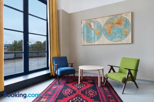 第比利斯工廠酒店 - 第比利斯 - 客廳