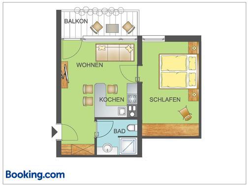 Gästehaus Rottenspacher - Kössen - Floorplan