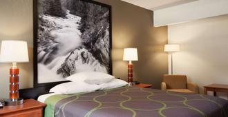 Super 8 by Wyndham Colorado Springs/Afa Area - קולרדו ספרינגס - חדר שינה