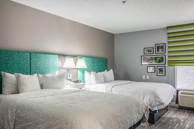 Hampton Inn Youngstown-North - Youngstown - Makuuhuone