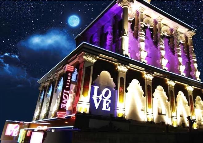 Hotel Ikutama Love - Adults Only - Osaka - Rakennus