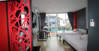 Red Roof In Hotel Ao Nang Beach - Ao Nang - Bedroom