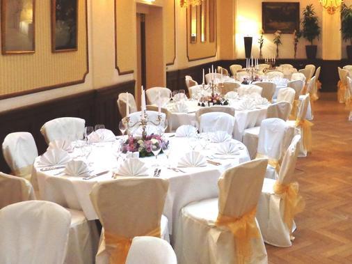 Radisson Blu Schwarzer Bock Hotel Wiesbaden - Wiesbaden - Banquet hall