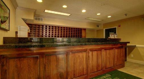 Intown Suites Kennesaw/Town Center - Marietta - Front desk