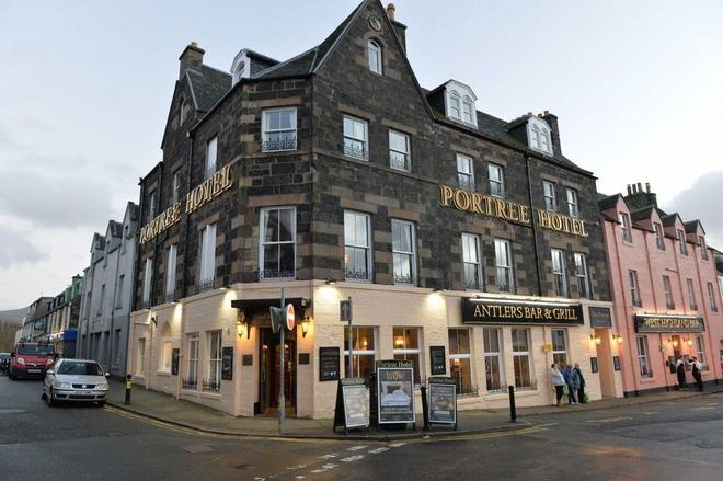 The Portree Hotel - Portree - Rakennus