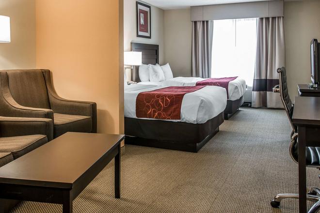 Comfort Suites University Area - South - South Bend - Bedroom