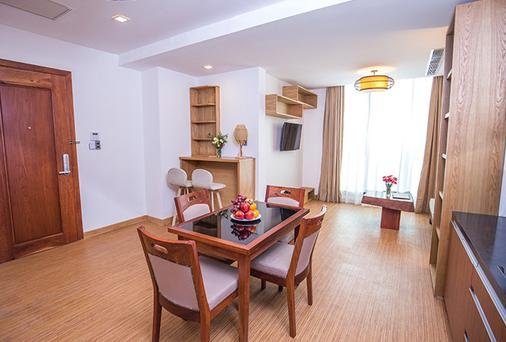 Orussey One Hotel & Apartment - Phnom Penh - Phòng ăn
