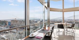 Hotel Cornavin - Ginebra - Balcón
