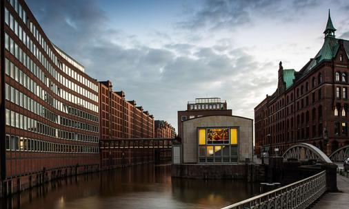 Ameron Hamburg Hotel Speicherstadt - Hampuri - Rakennus