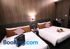 愛客發時尚旅館-萬年館 - 台北 - 臥室