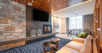 Fairfield Inn & Suites by Marriott Duluth Waterfront - Duluth - Sala de estar