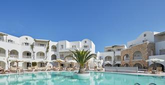 Aegean Plaza Hotel - Kamari - Piscina