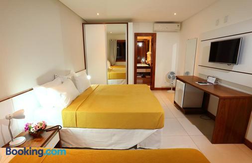 Hotel Flamingo Beach - Porto Seguro - Phòng ngủ