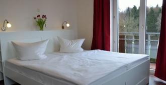 Forsthaus Schöntal - אאכן - חדר שינה
