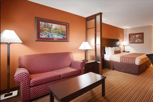 Days Inn by Wyndham Little Rock South - Little Rock - Phòng ngủ