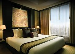 โรงแรมบันยันทรี กรุงเทพฯ - กรุงเทพมหานคร - ห้องนอน