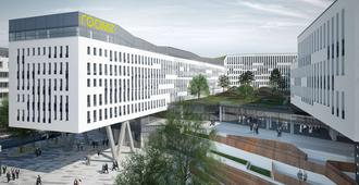roomz Vienna Prater - Vienna - Building