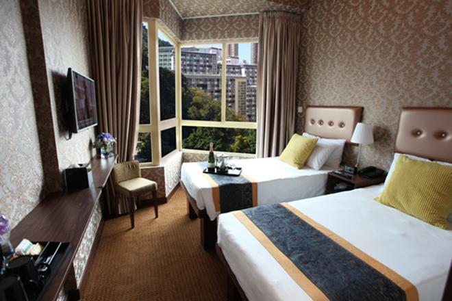 Grand City Hotel - Hong Kong - Bedroom