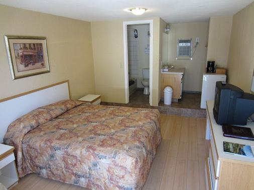 Crown Resort Motel - Penticton - Bedroom