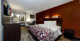 Red Roof Inn Tampa - Brandon - טמפה - חדר שינה