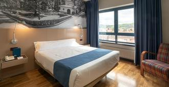Aparthotel Campus - Oviedo - Bedroom