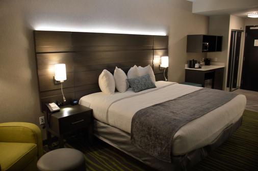 Best Western PLUS Prien Lake Inn & Suites - Lake Charles - Schlafzimmer