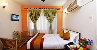 享樂之家酒店 - 加德滿都 - 加德滿都 - 臥室