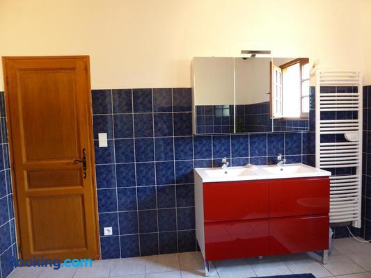 La Mimona - Sainte-Eulalie-en-Born - Bathroom