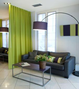 Best Western Hotel du Pont Wilson - Lyon - Living room