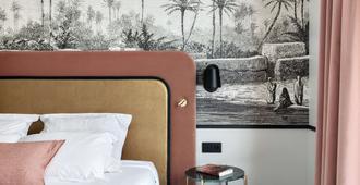 Best Western Hotel du Pont Wilson - Lyon - Yatak Odası
