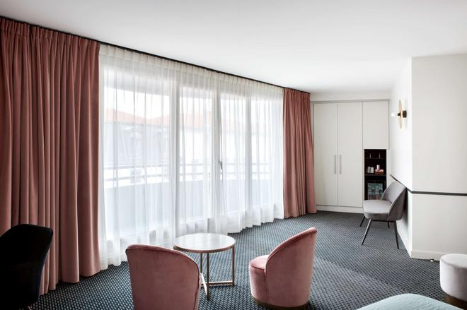 Best Western Hotel du Pont Wilson - Lyon - Sala de estar