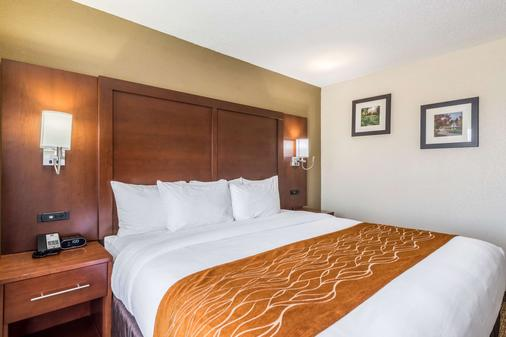 品質套房酒店 - 德頓 - 代頓 - 臥室