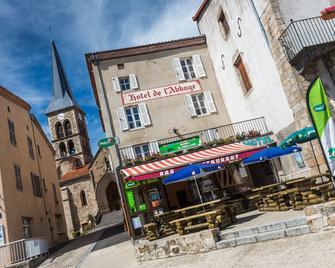 Hôtel Restaurant De L'abbaye - Sauxillanges - Building