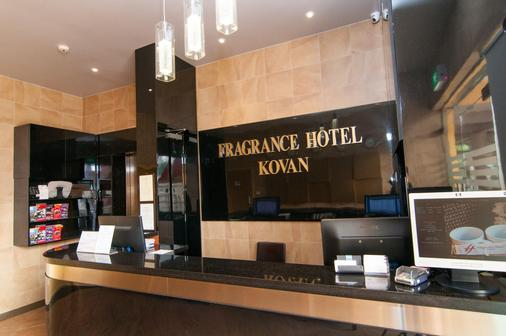 Fragrance Hotel - Kovan - Singapore - Front desk