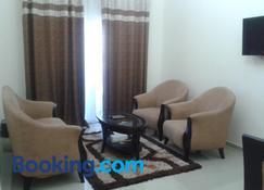 Al Smou Hotel Apartments - Ajman - Pokój dzienny