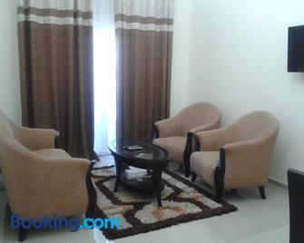 Al Smou Hotel Apartments - Ajman - Huiskamer