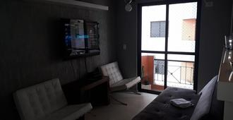 Apartment one block from Bresser Mooca Subway - Sao Paulo - Living room