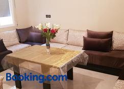 Appartement de luxe centre ville les 'Dunes d'Or' - Oujda - Living room