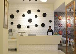 Zaki Hotel Apartment - Sur - Recepcja