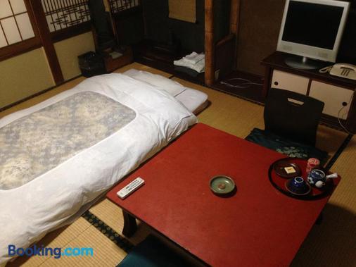 Chuoukan Shimizuya Ryokan - Nagano - Schlafzimmer