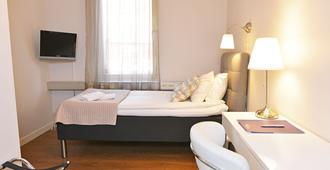 هوتل ستيلا - أبسالا - غرفة نوم